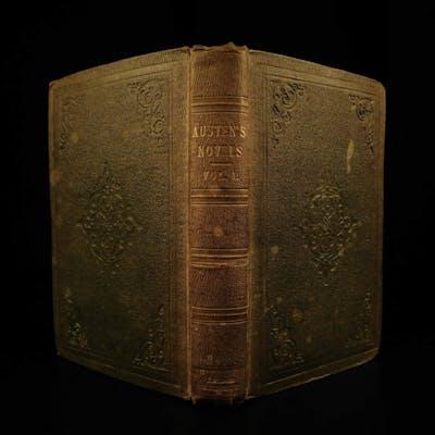 1832 1st ed Sense and Sensibility by Jane Austen Feminism Romanticism Bentley