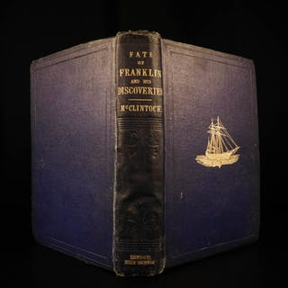 1859 1ed McLintock Voyage in Arctic Seas Narrative John Franklin Expedition