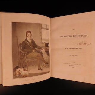 1804 1st print Thornhill Shooting Directory HUNTING Color Illustrated
