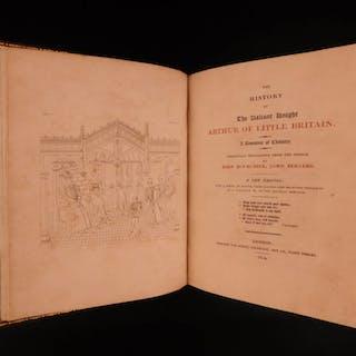 1814 Arthur of Little Britain Berners Morte d'Arthur Malory FAMOUS English ed