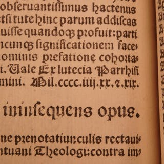 1499 Mantuanus Poetry + 1507 Satires of Persius Post-Incunable Satyrae