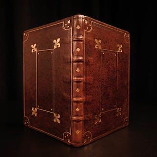 1600s Handwritten Manuscript Aristotle Philosophy De Anima Genere BEAUTIFUL