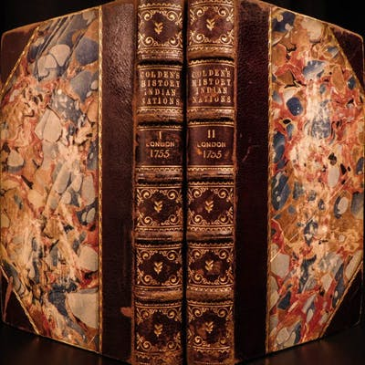 1755 RARE History of Five Indian Nations Canada America