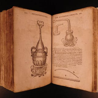 1659 Chauliac Grande Chirurgie Medieval Surgery Medicine French Joubert