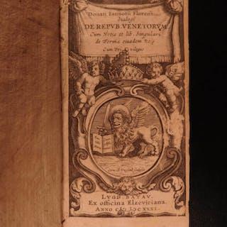 1631 VENICE Republic Italy Medici Politics Italian Elzevier Florentine