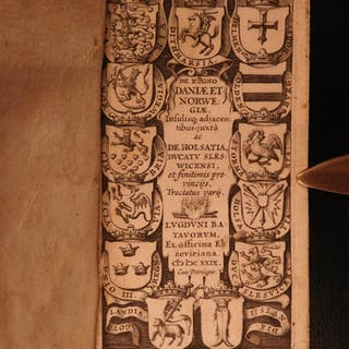 1629 RARE History of Denmark Scandinavia Iceland Norway Stephanius
