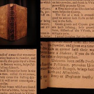 1683 London Pharmacopeia Culpeper HERBAL Alchemy Poor Medicine Pharmacy