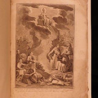 1710 1ed Tabula Toti Philosophy Physics Logic Metaphysics 28 Illustrations