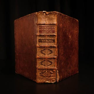 1730 Jakob Böhme Lutheran Occult Mysticism Behmen Signs Signatures German 7in1