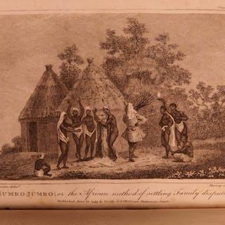 1799 Mungo Park Travels in AFRICA Mandingo Slaves Cannibalism Voyages Hunts