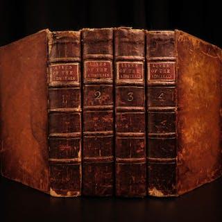 1750 Lives of British Admirals Royal Navy Walter Raleigh PIRATES Francis Drake