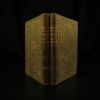 1839 Life of George Washington by Bancroft American Revolutionary WAR Americana