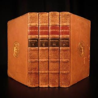 1821 CLAUDIAN Greek Roman Mythology Latin Panegyrics Raptu Prosperpinae
