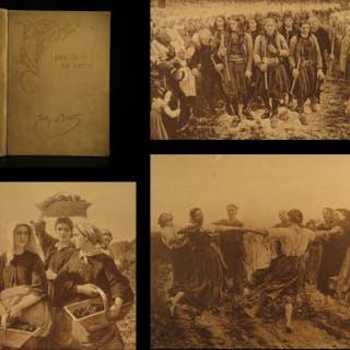 1891 Life of Jules Breton French ART Painting Nature Illustrated Ltd ed English