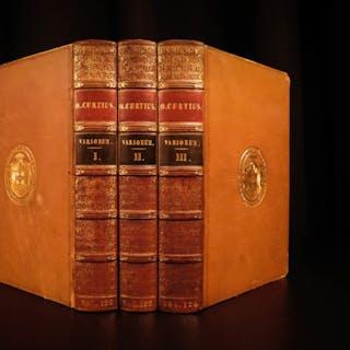 1825 Alexander the Great Quintus Curtius Rufus Greece Latin Illustrated