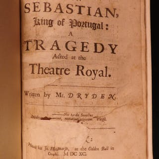 1690 1ed John Dryden Don Sebastian English Theater Catholic Controversy Incest