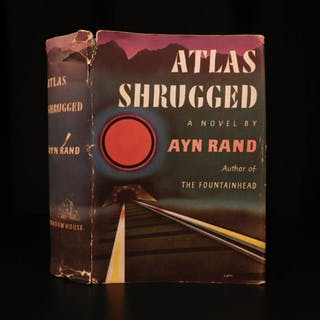 1957 Atlas Shrugged TRUE 1st edition 1st print by Ayn Rand Objectivism RARE