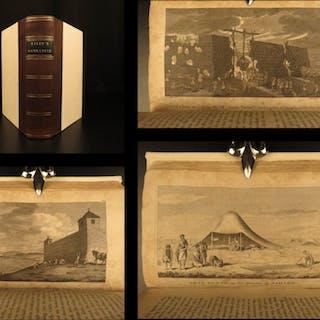 1817 1ed Narrative Commerce Shipwreck James Riley Oswego Paddock Pirates Arabs