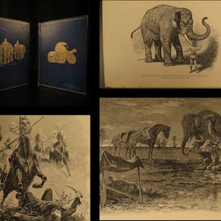 1895 1ed The Jungle Books Rudyard Kipling Children's INDIA Mowgli