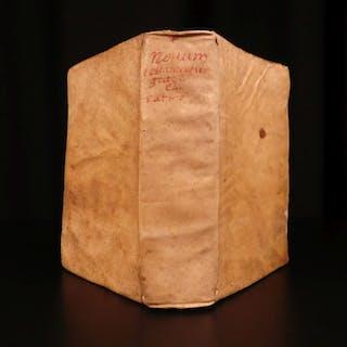 1602 RARE Greek Polyglot BIBLE Montano / Spanish Montanus w/ Picquet PROVENANCE