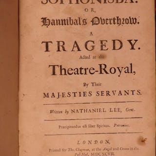 1697 Sophonisba Nathaniel Lee Restoration English Theatre Hannibal