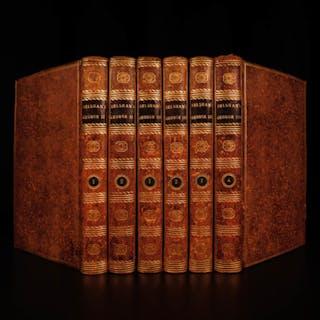 1793 1ed Belsham English Memoirs George III & Kings of England Britain Wars 6v