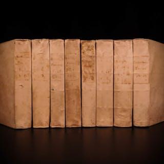 1766 Prompta Bibliotheca Franciscan Ferraris Church Encyclopedia & Canon LAW 8v