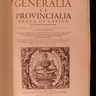 1636 Severin Binius Catholic Church Councils HUGE FOLIO Greek Latin Urban VIII