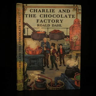 1967 1st print Charlie and the Chocolate Factory Dahl Illustrated Willy Wonka