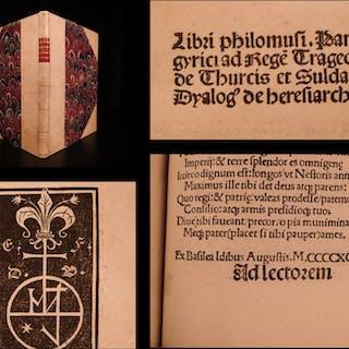 1498 1ed Sebastian Brant Carmina Locher Panegyrics INCUNABLE Gruninger DURER