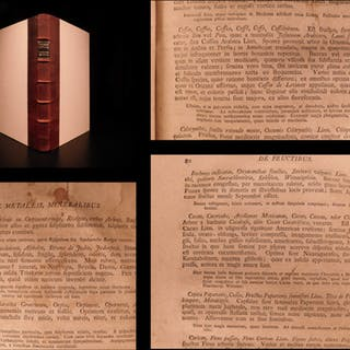 1798 Pharmacopoeia Wirtembergica Medicine Drugs Cures Anatomy Surgery