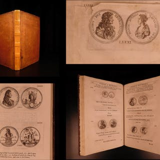 1697 1st ed Evelyn Numismata Illustrated Medals Coins Physiognomy Numismatics