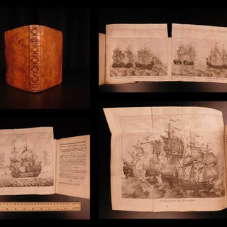 1740 Memoirs of Guay Trouin Pirates BRAZIL French NAVY Louis XIV Illustrated