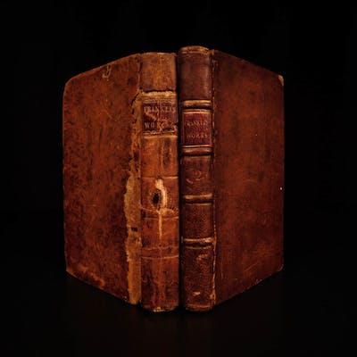 1796 Works of Benjamin Franklin Autobiography Way to Wealth Politics