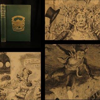1869 ART George Cruikshank's Table Book London England Caricature Illustrated