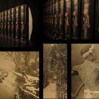 1901 Oriental Series Japan China History Art Illustrated Brinkley