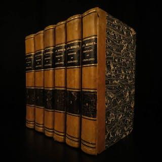 1841 History of the CRUSADES Michaud Holy Wars Jerusalem Jaffa French