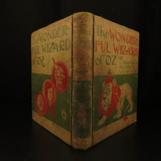 1900 WIZARD of OZ 1st edition Baum Denslow Fantasy Children's Literature