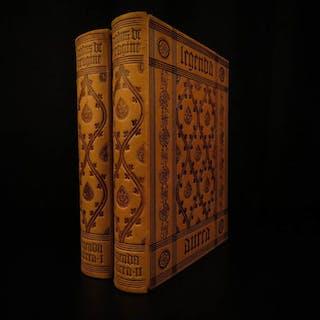 1917 Golden Legend Voragine Legenda Aurea Lives of Medieval Saints Catholic 2v