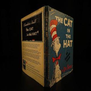1957 TRUE 1st/1st Cat in the Hat by Dr Seuss + 1st ed DJ Children Illustrated