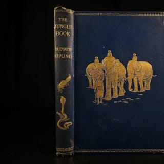 1894 1st/1st The Jungle Book Rudyard Kipling Children's INDIA Mowgli