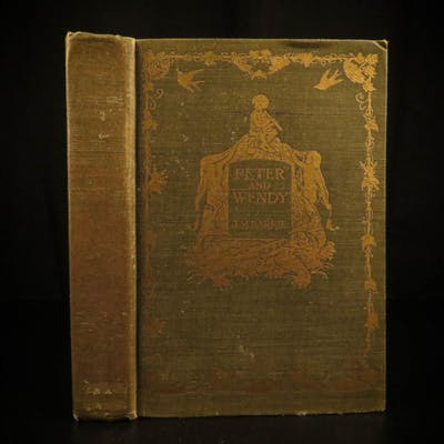 1911 1st ed Peter Pan and Wendy JM Barrie Children's Illustrated