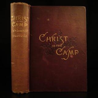 1887 1st ed Christ in the Camp Civil War Confederate Robert E Lee