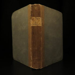 1825 Studies of CHESS Philidor & Pratt Strategy Rules Instruction