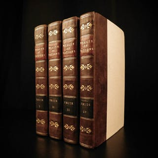 1814 Wealth of Nations Adam Smith Economics Industrial Revolution Capitalism 4v