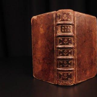 1707 RARE Homer ILIAD Greek Mythology Latin & Greek Achilles Estienne