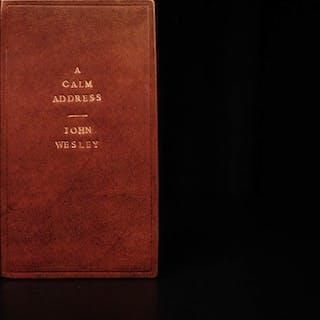 1775 1ed John Wesley Calm Address to American Colonies TAXATION Samuel Johnson