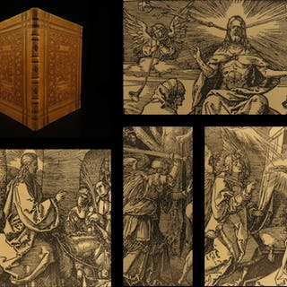 1884 FAMOUS Albrecht DURER Passion of Jesus Christ Iconography Illustrated
