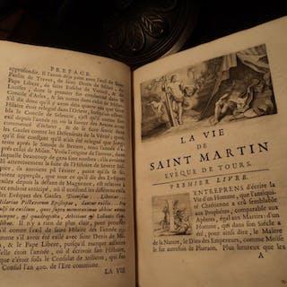 1699 1st ed Life of Saint Martin of Tours / Hungary Born Patron Saint