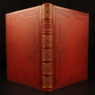1870 Fables of Jean de la Fontaine French Illustrated 113 Lambert Engravings
